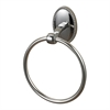 Sterling Towel Ring In Chrome