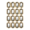 Sterling Honeycomb Mirror