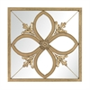 Sterling Albern Four Leaf Clover Mirror By