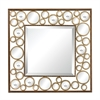 "Sterling Metal Mirror With 1"" Bevel"
