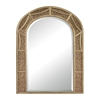 Arch Mirror With Antique Glass Surround.