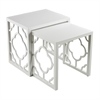 Gloss White Nesting Table