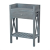 Sterling Biscayne Beachcomber Blue Side Table By