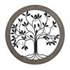 Sterling Rossington-Circular Wall Panel With Tree Of Life