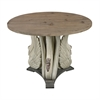 Baywood-Swan Accent Table With Wooden Top
