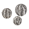 Sterling Set Of 3 Metal Work Objects