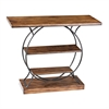 Sterling Wood And Metal Console