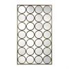 Retro Style Multi-Circle Wall Mirror