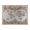 Sterling Antique Style World Map Wall Art
