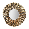 Fluted Wreath Mirror