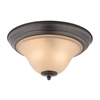 Kingston 2 Light Flush Mount