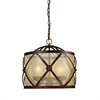 Cumberland 3 Light Chandelier In Classic Bronze