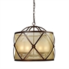 Cumberland 6 Light Chandelier In Classic Bronze