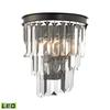 ELK lighting Palacial 1 Light LED Wall Sconce In Oil Rubbed Bronze