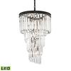 ELK lighting Palacial 6 Light LED Chandelier In Oil Rubbed Bronze