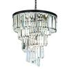 ELK lighting Palacial 9 Light Chandelier In Oil Rubbed Bronze