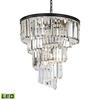 ELK lighting Palacial 9 Light LED Chandelier In Oil Rubbed Bronze