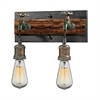 ELK lighting Jonas 2 Light Vanity In Weathered Multitone