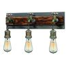 ELK lighting Jonas 3 Light Vanity In Weathered Multitone