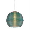 "Sterling Telford-13"" Multi - Colored Spun Acrylic Pendant"