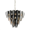 Sterling Ashreigh-Mod Inspired Black And White 3 Tier Pendant