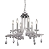 Sterling Clear Acrylic Mini Chandelier