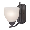 Cornerstone Kingston 1 Light Sconce In Oil Rubbed Bronze