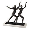 Sterling Chorus Line Sculpture