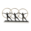 Sterling Ring Dancer Statues