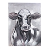 Sterling Friesian Oil On Canvas