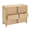 Lazy Susan 4 Drawer Flat File Cabinet