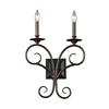 ELK lighting Gloucester 2 Light Wall Sconce In Weathered Bronze