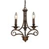 Gloucester 3 Light Chandelier In Weathered Bronze