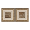 Sterling Golden Rule Shadow Box I, II - Limited Edition Print Under Glass