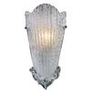 Providence 1 Light Wall Sconce In Silver Leaf