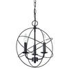 Williamsport 3 Light Chandelier In Oiled Rubbed Bronze