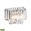 ELK lighting Palacial 1 Light LED Vanity In Polished Chrome