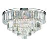ELK lighting Palacial 6 Light Chandelier In Polished Chrome