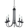 Williamsport 5 Light Chandeier In Oil Rubbed Bronze