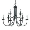 Cornerstone Williamsport 9 Light Chandelier In Oil Rubbed Bronze