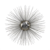 Lazy Susan Silver Sun Metal Wall Décor