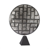 Lazy Susan Parquetry in Metal Sculpture