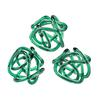 Aqua Glass Knots - Set of 3