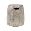 Hive Waxed Concrete Stool