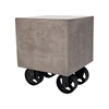 Dimond Home Jigger Side Table Waxed Concrete,Rust