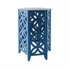 Majorca Accent Table In Navy