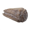 Lazy Susan Wooden Cone Shell