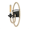 Pearce 1 Light Wall Sconce In Matte Black