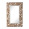 Lazy Susan Rectangular Shell Mirror