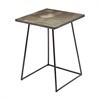Linear Concrete Accent Table